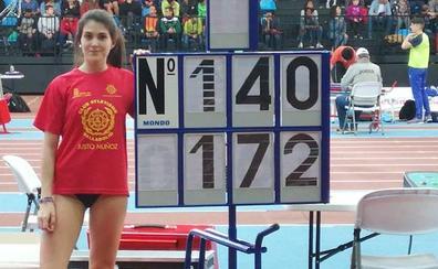 Laura Martín, del CAV-UVa, campeona de España sub-20 de altura