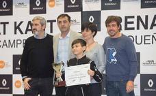 Un vallisoletano de 11 años se lleva el Premio Renault Kart de FernandoAlonso