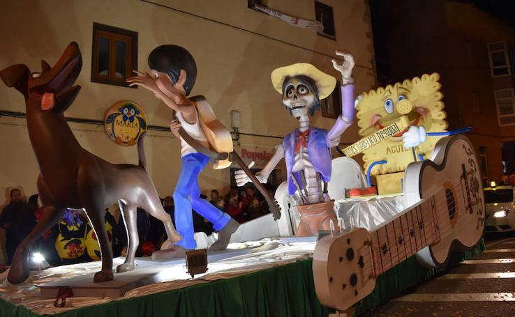 Desfile del sábado en el carnaval de la Galleta