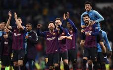 El Barça celebra su semana grande