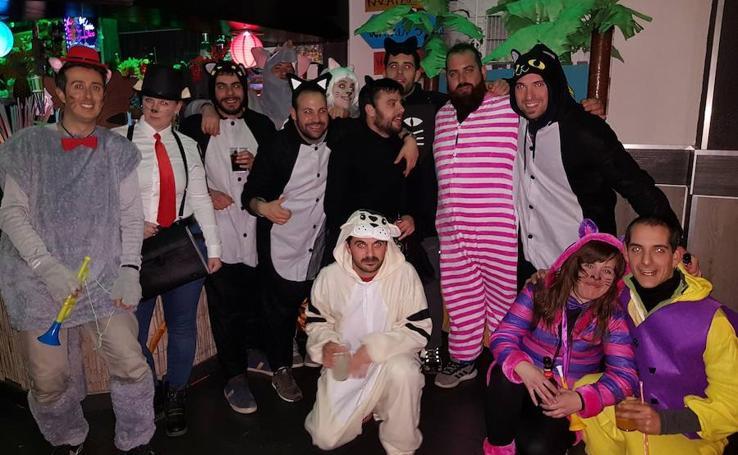 Carnaval nocturno en Astudillo