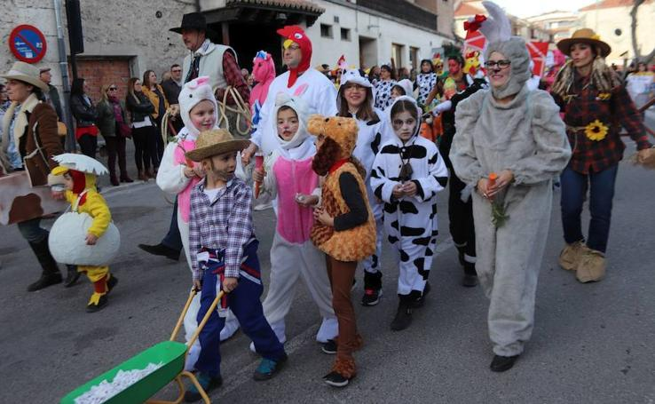 Concurso Infantil de disfraces en Cuéllar