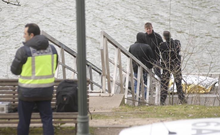 Rescatan el cadáver de un hombre del Pisuerga en Valladolid