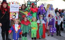 Los 'principitos' ganan el concurso infantil de Carnaval de Cuéllar