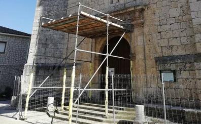 La Diócesis rehabilitará la torre y los contramuros de la iglesia de Aldeamayor