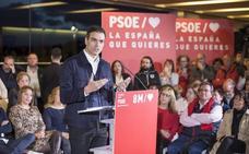 Pedro Sánchez: «Os voy a ayudar, y mucho, a recuperar Ávila y Castilla y León»