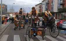 El entierro de la sardina despide el carnaval en la provincia de Valladolid