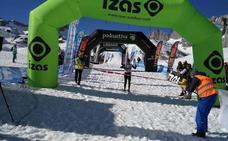 David López Castán logra el subcampeonato de España de raquetas de nieve