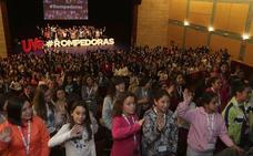 Treinta sorianas 'Rompedoras' cuentan su experiencia a 300 jóvenes para inculcar la igualdad