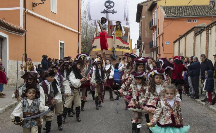 Participantes en el carnaval de Toro (Zamora)