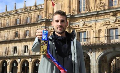 Álvaro de Arriba: «Espero que este oro se quede pequeño con lo que queremos luchar, medallas mundiales o en Juegos Olímpicos»