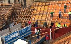 Constructores y operarios municipales devuelven la normalidad a Ciudad Rodrigo
