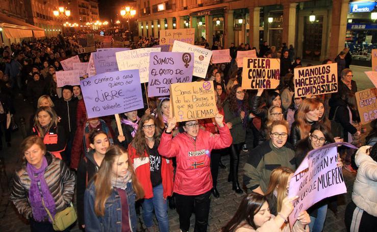 Manifestación del 8 de Marzo en Segovia