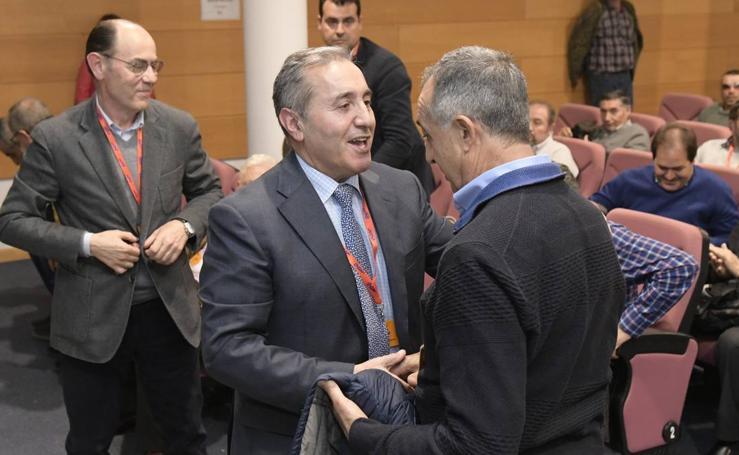 Justino Medrano, nuevo presidente de Acor