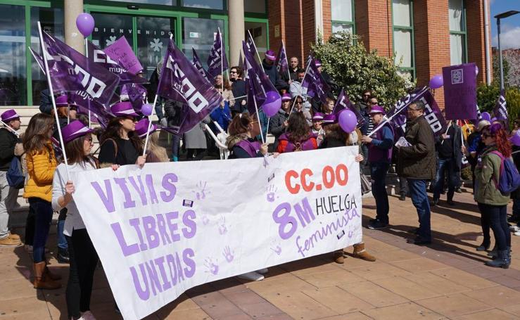 Actos del Día Internacional de la Mujer en la provincia de Valladolid