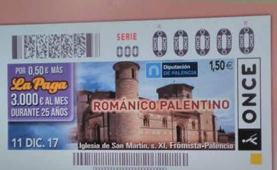 La ONCE reparte un premio de 5.163 euros en Palencia