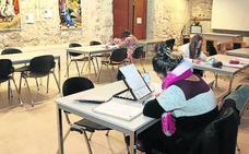 El palacio de Pedro I acoge los servicios de la biblioteca municipal de Cuéllar hasta el día 14