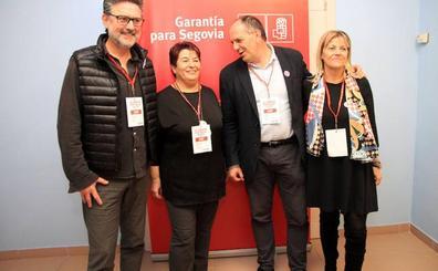 José Luis Aceves destaca la «profunda renovación» en las listas electorales del PSOE de Segovia