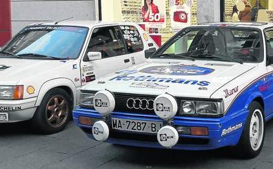 65 coches clásicos participan en el Rally Ciudad de Segovia