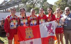 Marta García y Carla Gallardo regalan el oro a Castilla y León