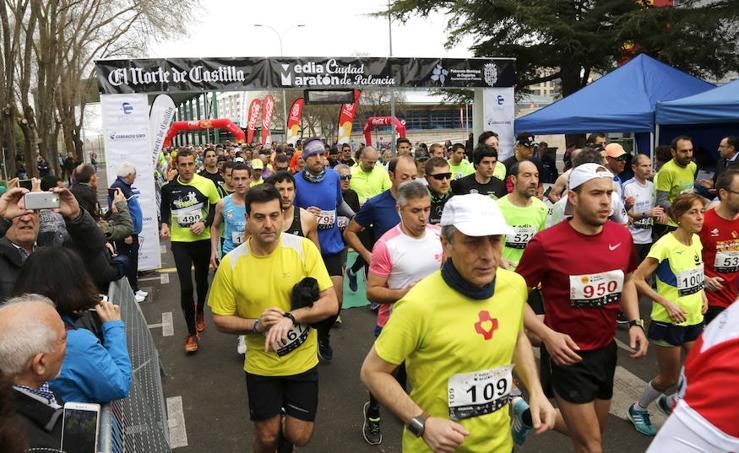 IX Media Maraton El Norte de Castilla ciudad de Palencia 1-3