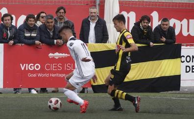 El Salamanca CF le da vida al Rápido de Bouzas (1-0)