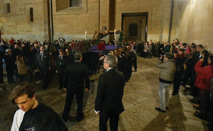 Vía Crucis en la Catedral de Salamanca