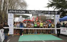 Gonzalo Cantero y María Noriega conquistan la Media Maratón El Norte de Castilla Ciudad de Palencia