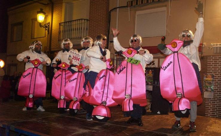Fiesta de la Piñata en Pedrajas de San Esteban (I)