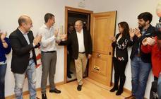 Francisco Igea comparece ante los medios tras ser proclamado candidato de Ciudadanos a la Presidencia de la Junta