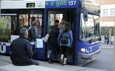 Los usuarios de transporte urbano por autobús crecen el 0,6% en enero en Castilla y León
