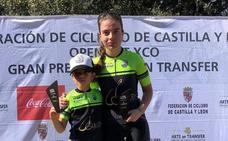 David Martín y Natalia Ovejero vencen para la Escuela de Ciclismo Béjarana en Crespos