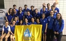 El Club Acuático Salamanca, campeón regional absoluto en Valladolid