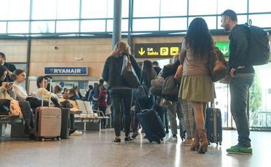 El aeropuerto de Valladolid cierra febrero con un aumento del 20% en el número de pasajeros