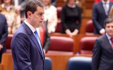 Ángel Ibáñez, proclamado nuevo presidente de las Cortes en sustitución de Silvia Clemente