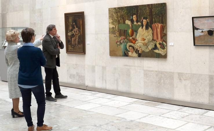 El Museo de la Universidad de Valladolid acoge la exposición 'Marcelina Poncela. Paisajes y personajes (1864-1917)'