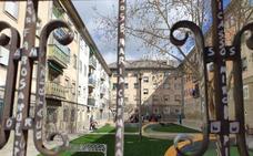 El Colectivo Hilógicas presenta el segundo patio reformado de San José