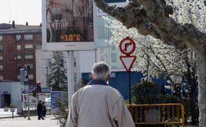 Los termómetros se desploman diez grados hoy en Valladolid