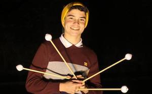 El percusionista Manuel Monterrubio, seleccionado para la Joven Orquesta del Concertgebouw