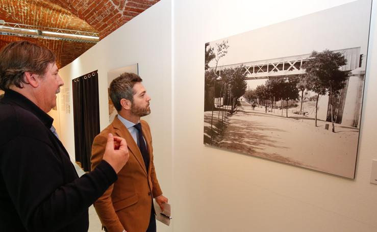 Exposición en Salamanca sobre la construcción del ferrocarril hasta Barca d'Alva (Portugal)