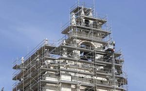 Las obras de la Catedral de Palencia avanzan para celebrar sus 700 años en 2021