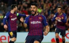 Luis Suárez: «Lo piso, pero después me desestabiliza»