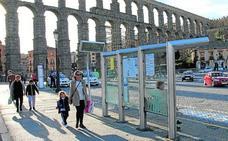 23 pantallas informarán en las paradas a los 11.000 usuarios de los autobuses