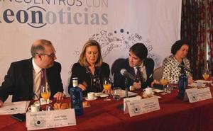 leonoticias.tv | Así fue el 'encuentro leonoticias' con Del Olmo, García Cirac y Suárez-Quiñones