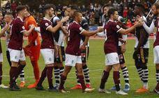 CD Guijuelo, Salamanca CF y Unionistas CF, en positivo en la segunda vuelta con respecto a la primera