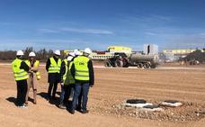 Las obras de la nueva sede de Sonorama Ribera finalizarán en mayo