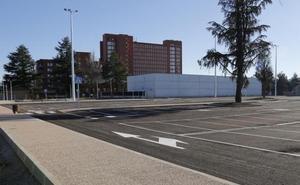 El nuevo parking del hospital de Palencia comenzará a funcionar el lunes