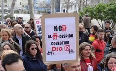 Trabajadores de DIA piden que se amplíe el plazo de negociación del ERE