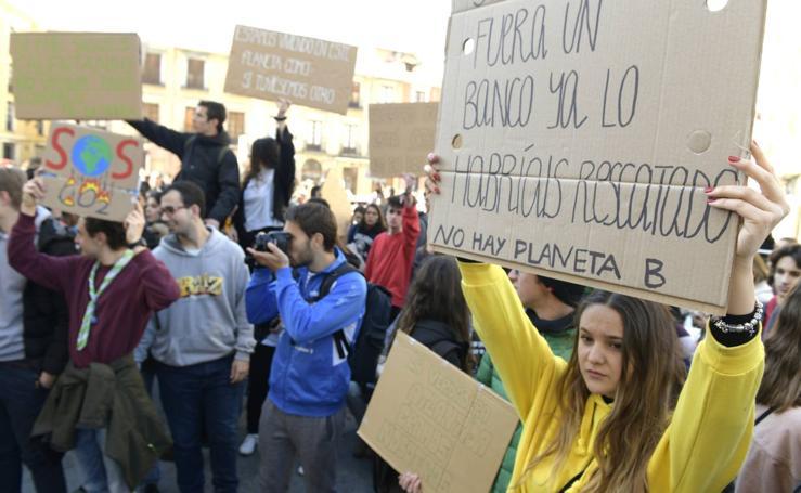 Concentración contra el cambio climático en Valladolid