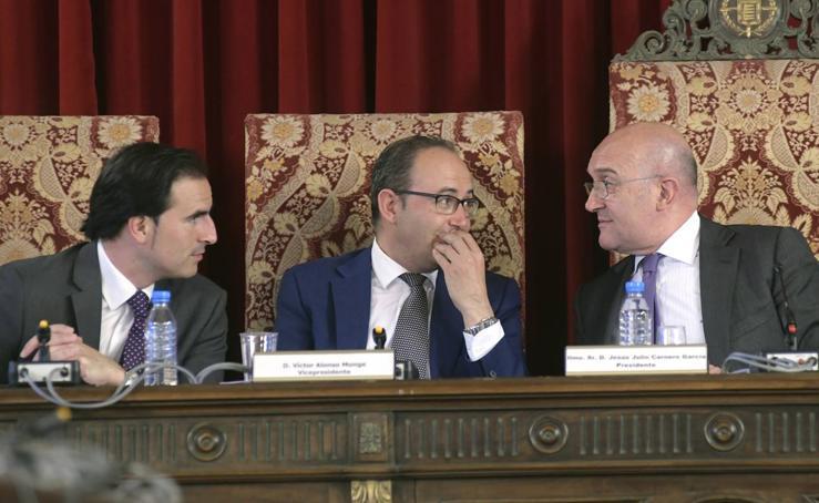 Pleno en la Diputación de Valladolid